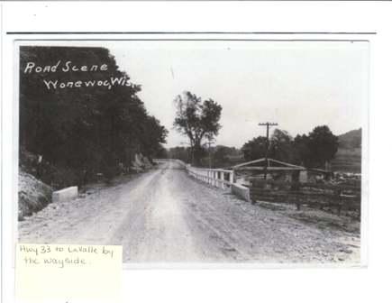 Bridge over Baraboo River
