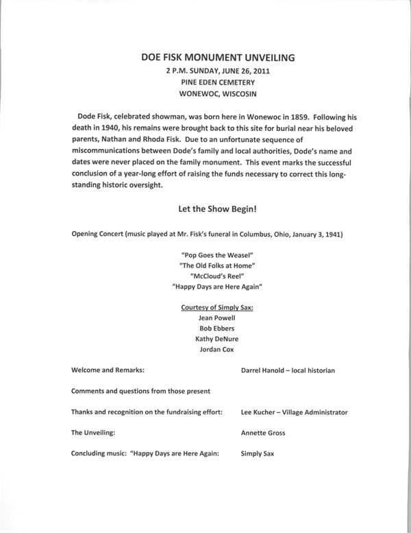 Dode Fisk Program 6-26-11(2)