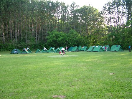 TENT CAMPING SITES Plenty of room for everyone