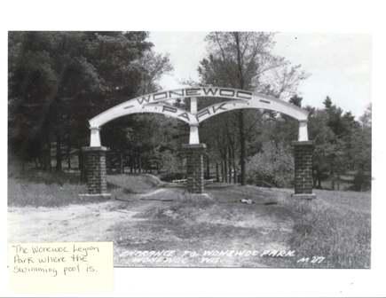 Legion Park Arch