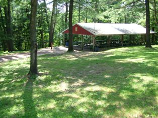PICNIC SHELTER Call for reservations:  (608) 464-3114